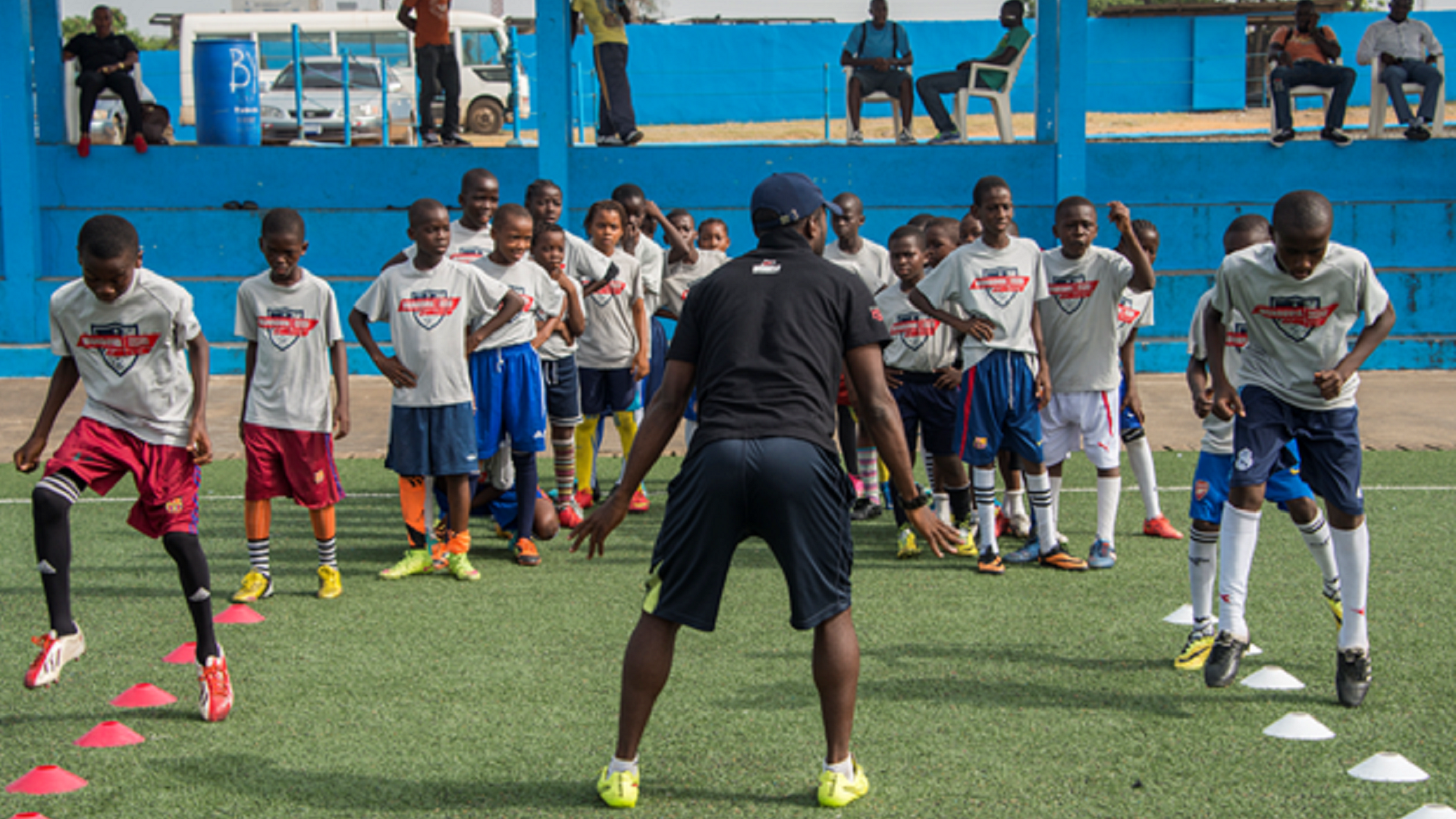Monrovia FA training