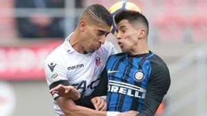 Adam Masina Joao Cancelo Inter Bologna Serie A