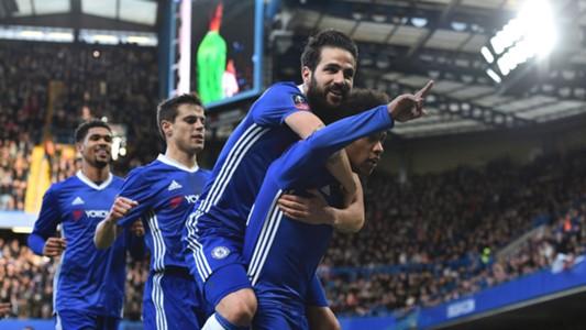 Willian Cesc Fabregas Chelsea