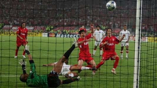 Xabi Alonso Liverpool AC Milan Champions League