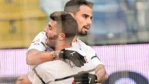 Suso Milan Genoa Serie A