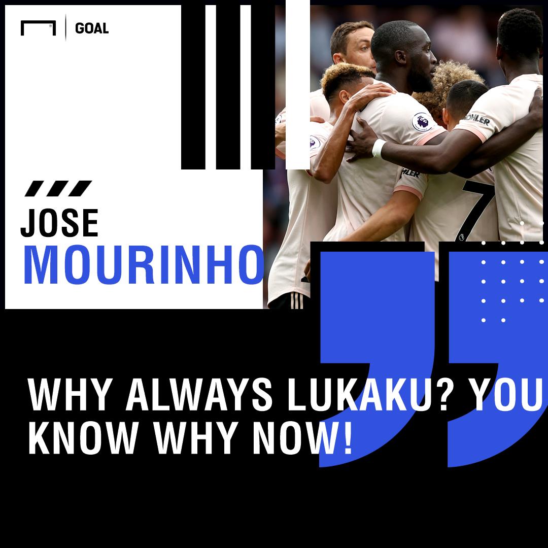 Jose Mourinho why always Romelu Lukaku