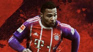Serge Gnabry Bayern Munich GFX