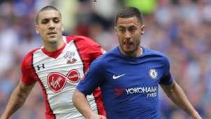 Oriol Romeu Southampton Eden Hazard Chelsea