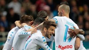 Napoli Squad Mertens Hamsik Inter 30042017