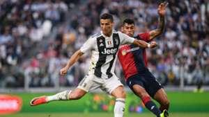 Cristiano Ronaldo Romero Juventus Genoa