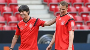 Joachim Low Manuel Neuer Germany