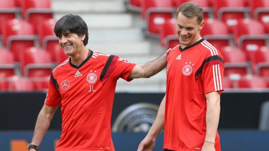 Joachim Low Manuel Neuer Germany