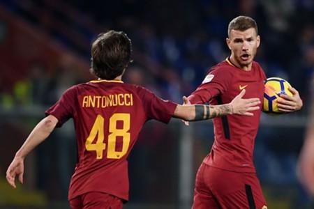 Mirko Antonucci & Edin Džeko - AS Roma