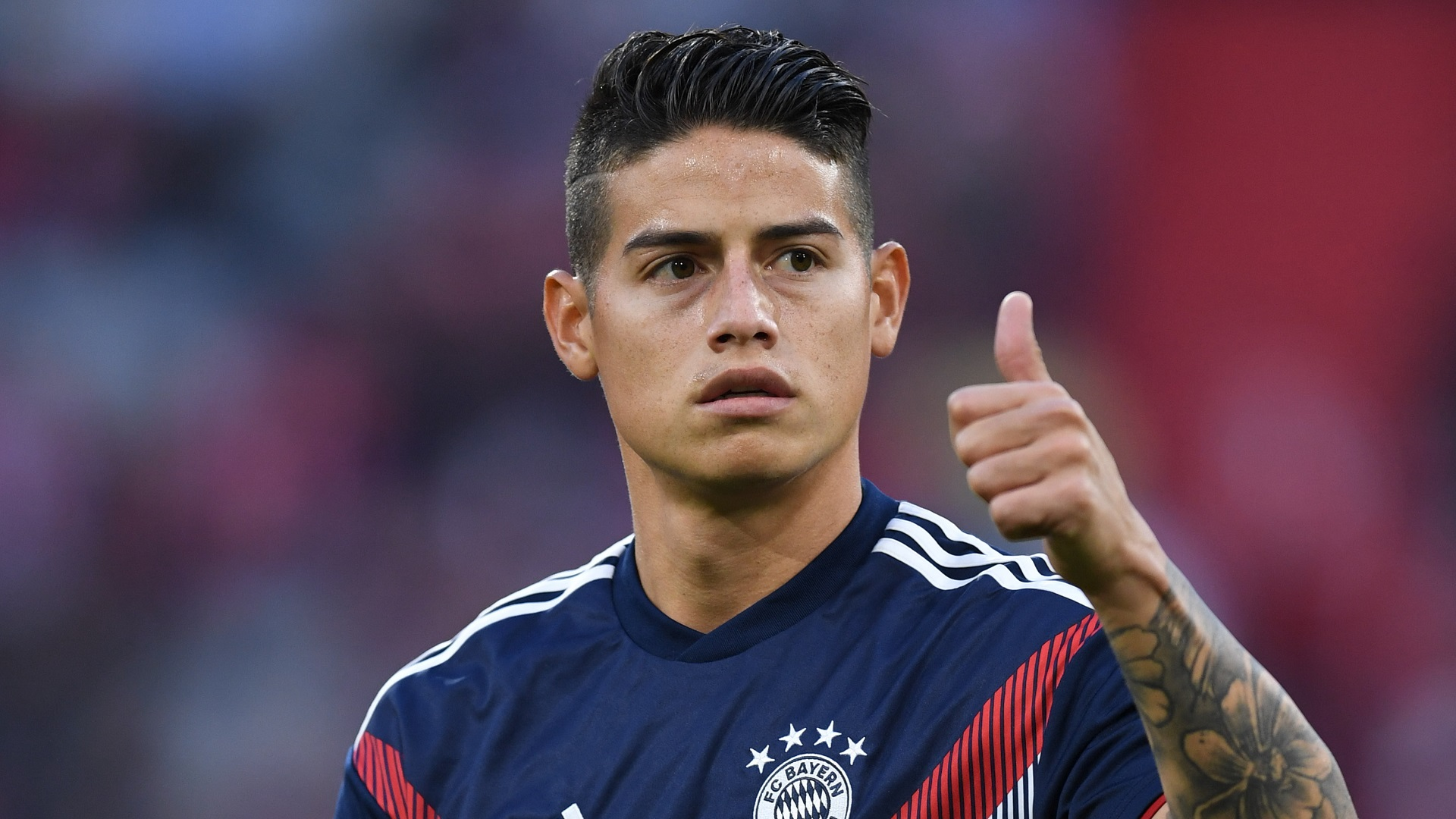 James Rodriguez Bayern Munich 06102018