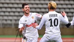 Cristian Lopez Lens Ligue 2