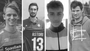 Davide Astori, Thomas Rodriguez, Adrian Lillebekk, Bruno Boban