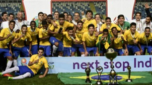 Brazil under-17 South American champions 2017