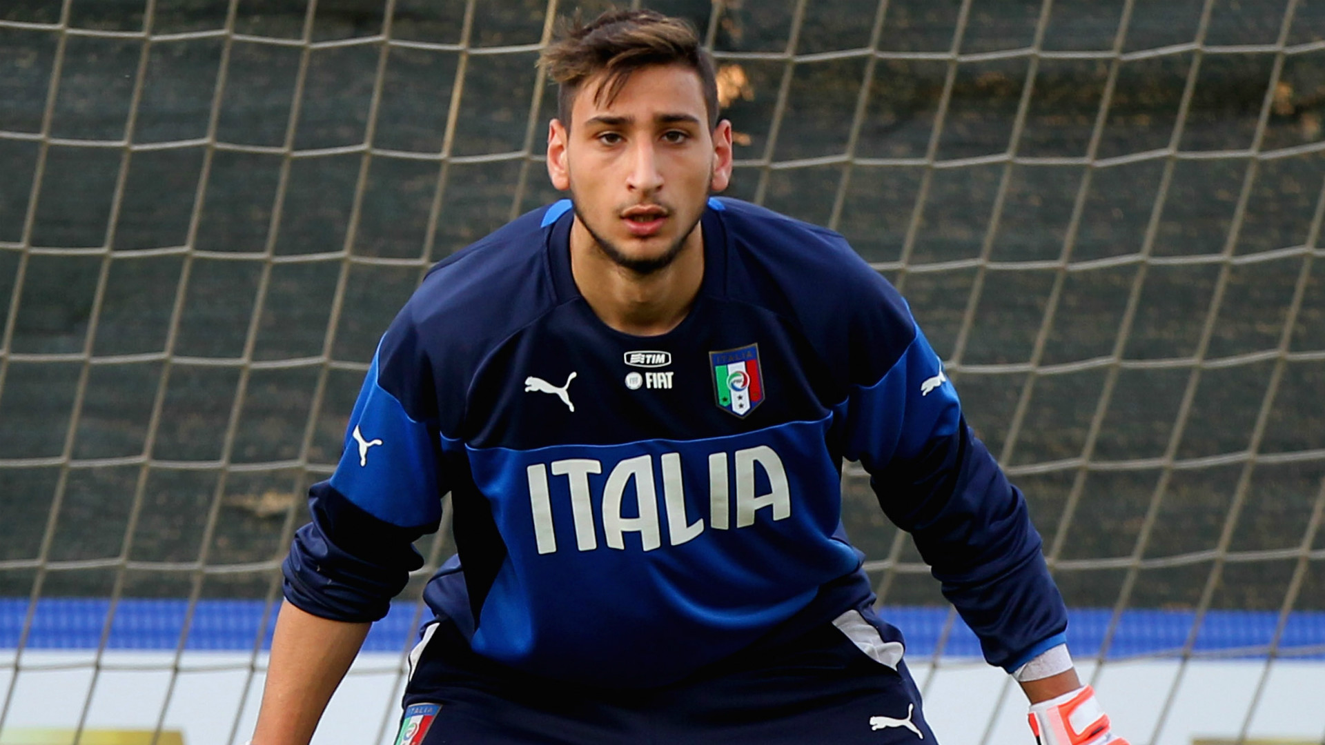 Gianluigi Donnarumma Italy Under-21