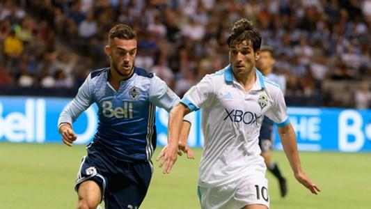 Nicolas Lodeiro Russell Teibert MLS Seattle Vancouver 08232017
