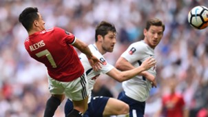 Alexis Sanchez Manchester United Tottenham FA Cup SF 21042018