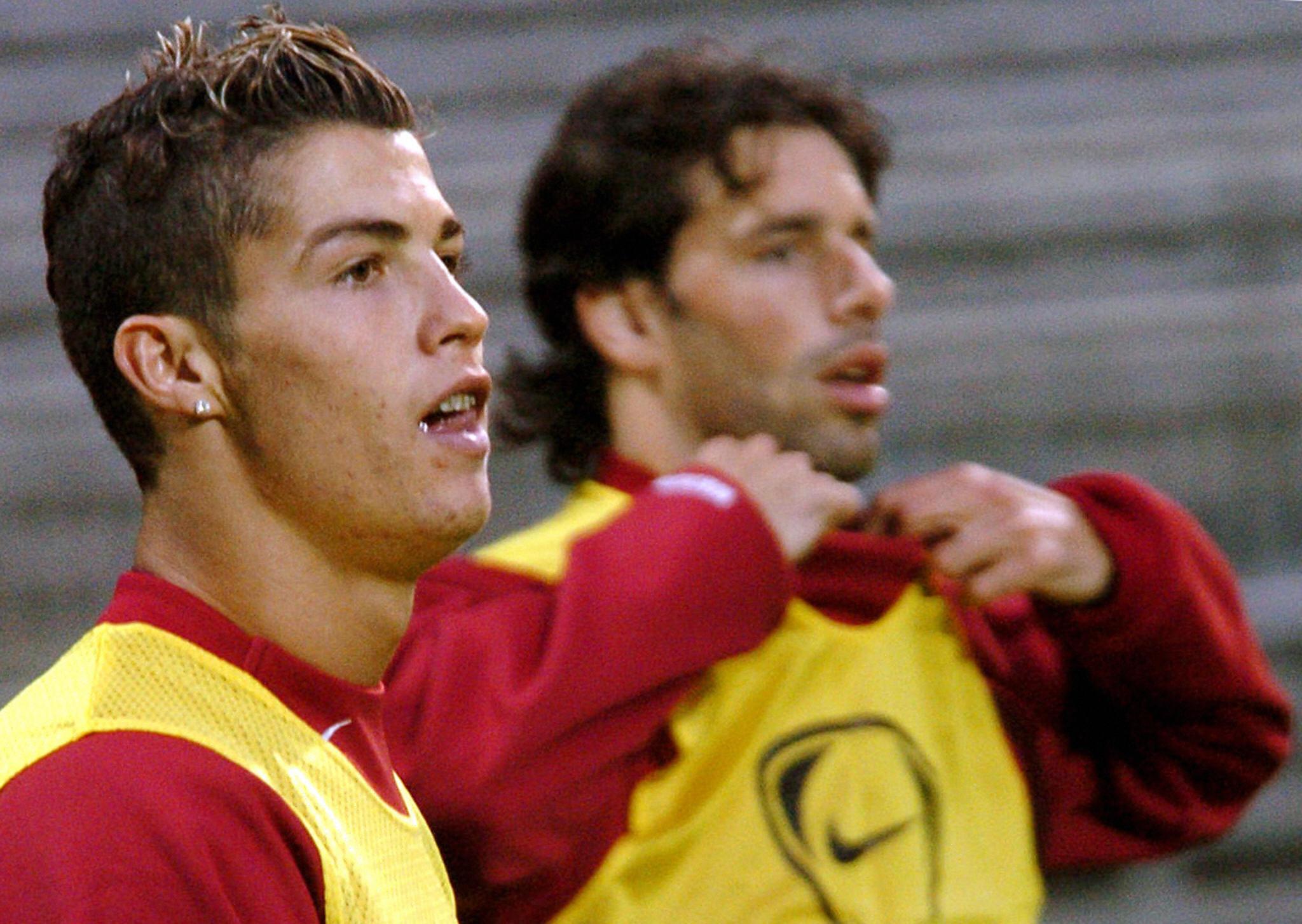 Van Nistelrooy salió del Manchester United por sus discusiones con Cristiano Ronaldo