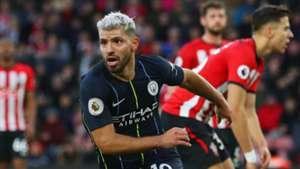 Sergio Aguero Southampton vs Manchester City Premier League 2018-19