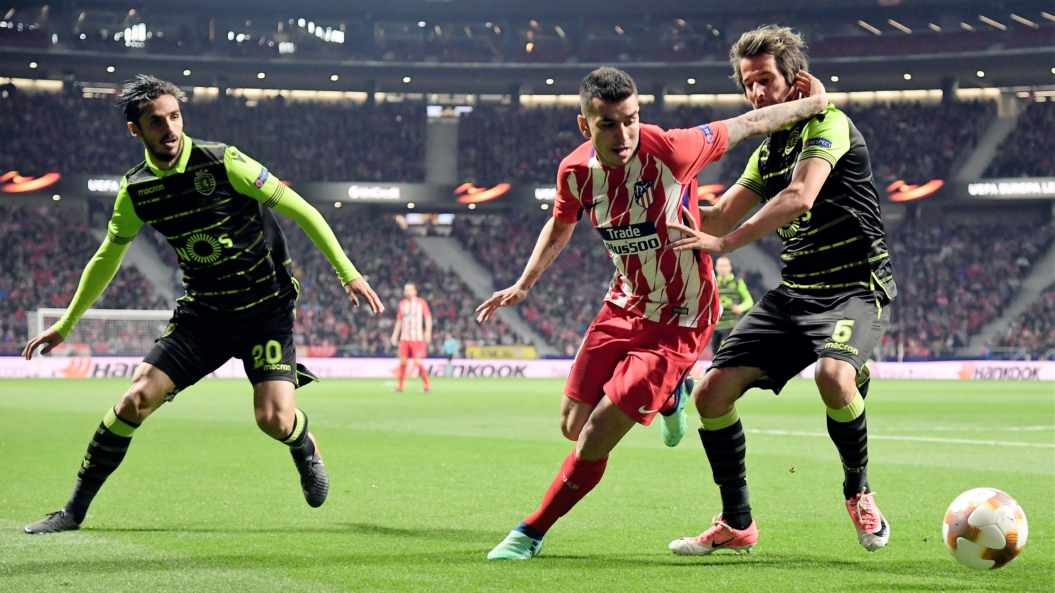 Angel Correa Atletico de Madrid Sporting Portugal UEL 05042018