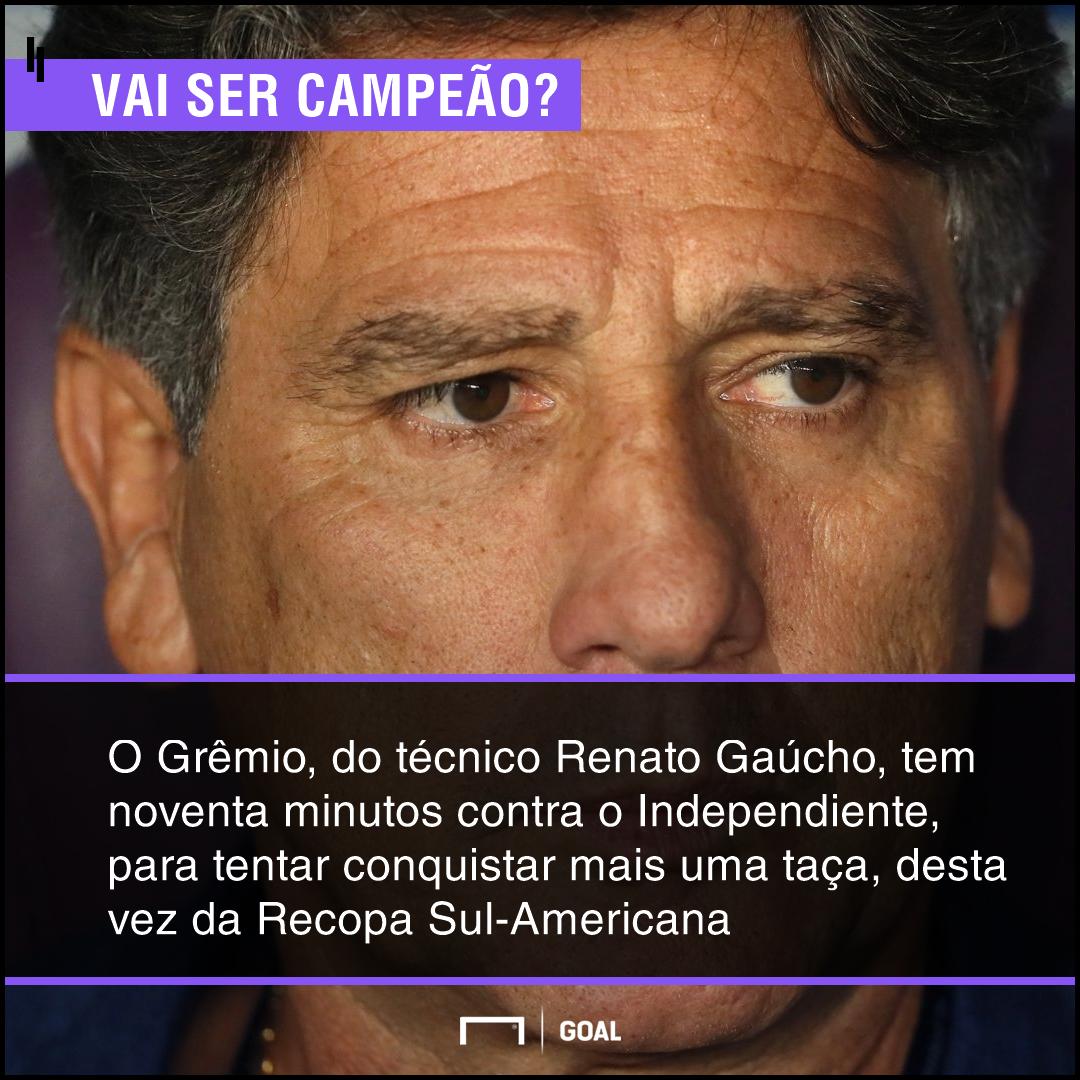 d0a1771f92 Aposte em Grêmio x Independiente  quem vence pela Recopa Sul ...