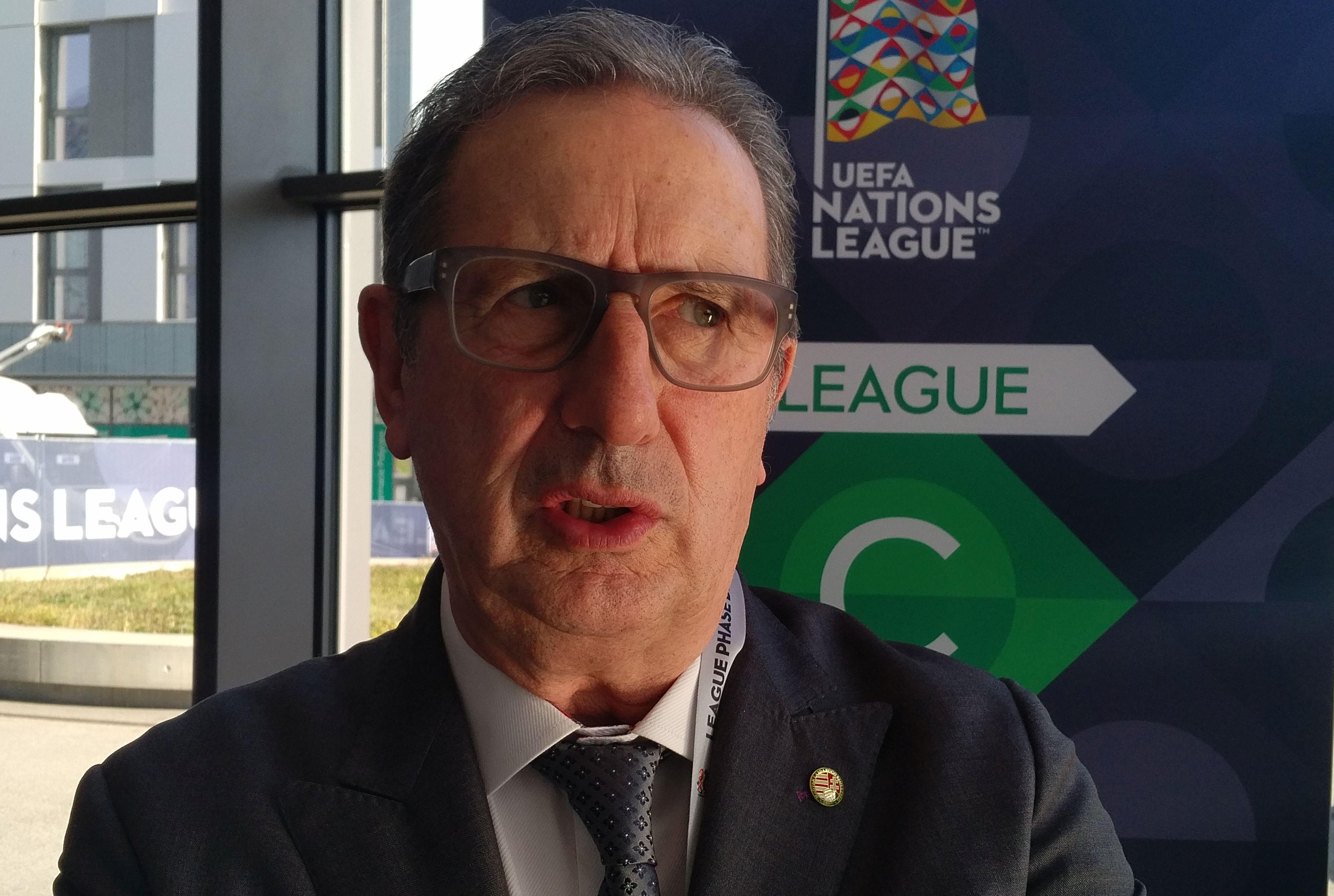 Georges Leekens Hungary magyar válogatott