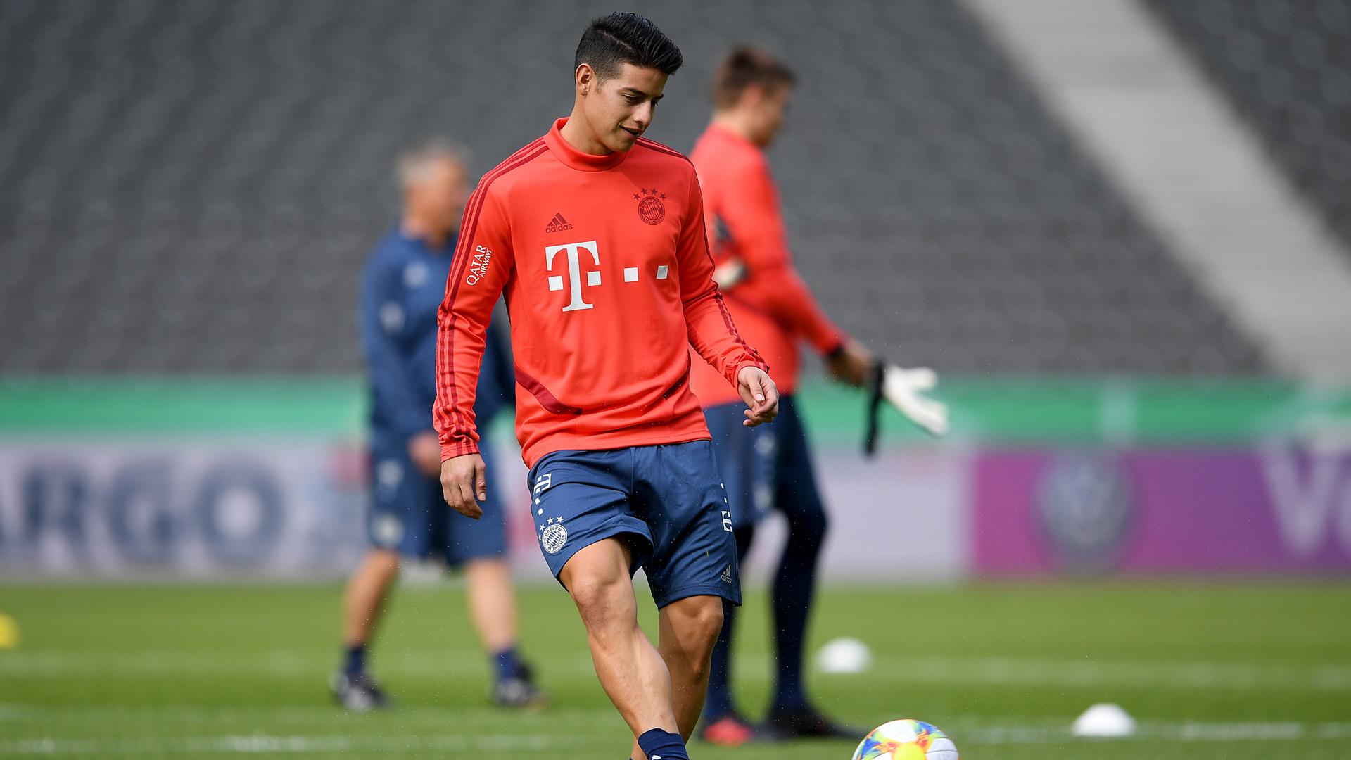James Rodriguez Bayern 2019