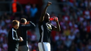 Romelu Lukaku Southampton Manchester United
