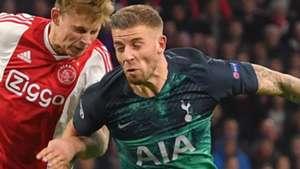 Toby Alderweireld Tottenham 2018-19
