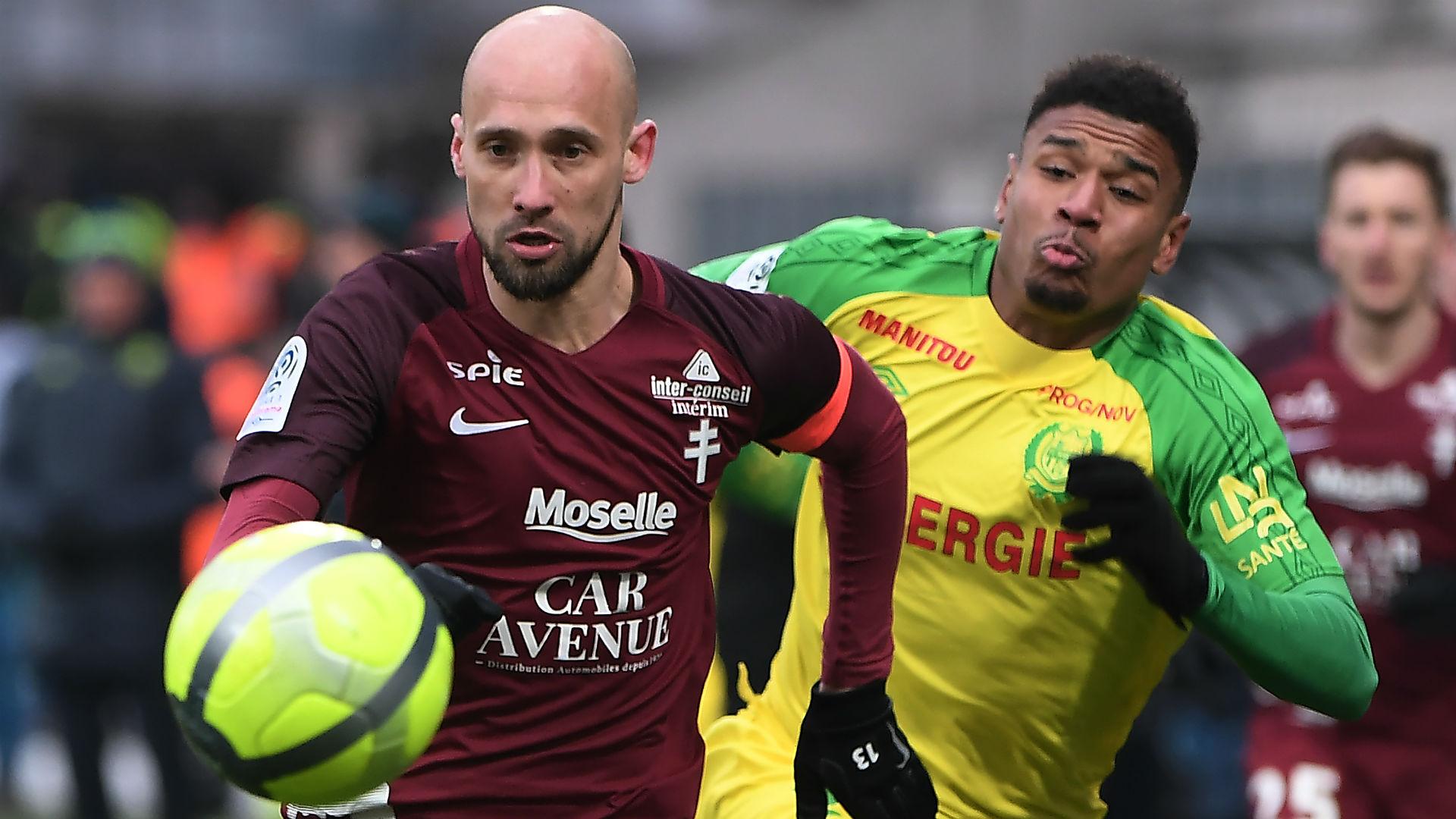 Renaud Cohade Santy Ngom Metz Nantes Ligue 1 18032018