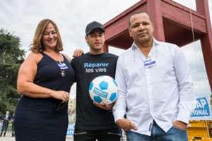 Neymar Mother Father