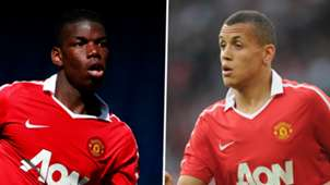 Paul Pogba Ravel Morrison Manchester United