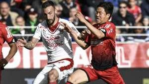 Kwon Chang-Hoon Diego Contento Dijon Bordeaux Ligue 1 30042017