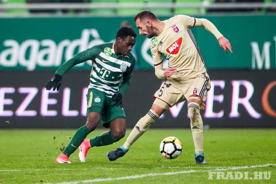 Joseph Paintsil Ferencváros Fradi Fiola Attila Videoton FC