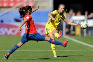 Chile Sweden Wome World Cup 11062019