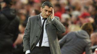 Ernesto Valverde Barcelona Liverpool Champions League 2019