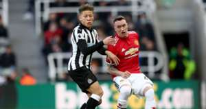 Phil Jones vs. Newcastle United