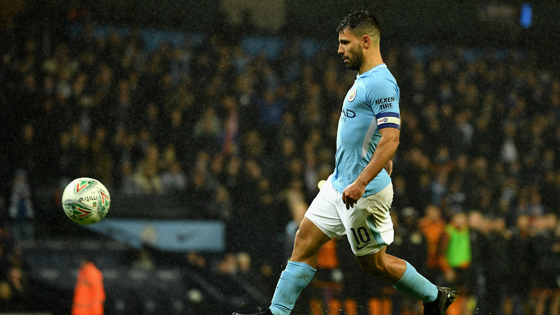 Sergio Aguero Manchester City Wolves