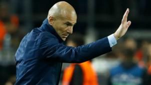 Zinedine Zidane Borussia Dortmund Real Madrid Champions League 26092017