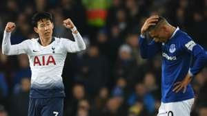 Heung-min Son Tottenham Richarlison Everton 2018-19