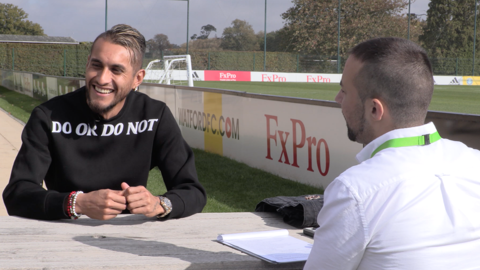 Roberto Pereyra interview