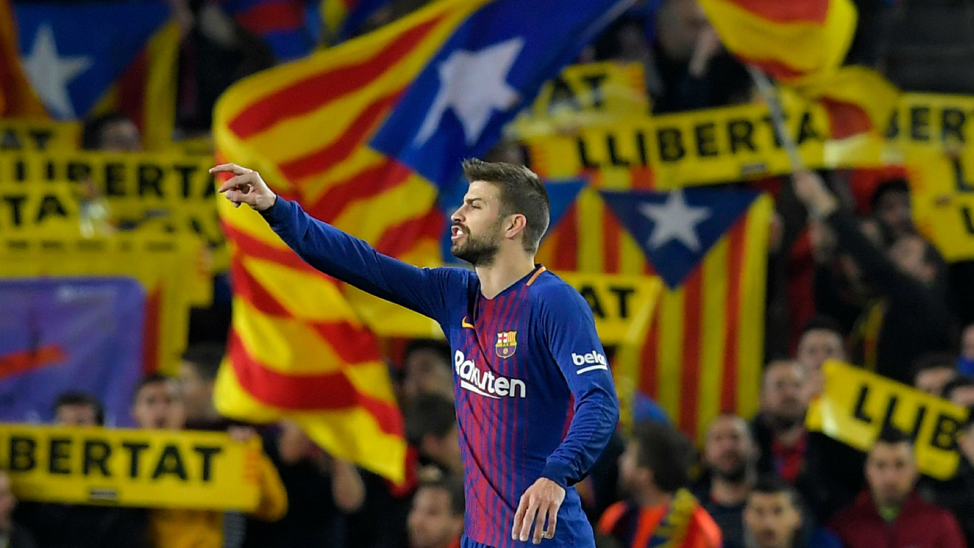 Gerard Pique Barcelona Catalan independence
