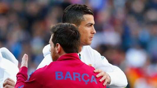 Lionel Messi Barcelona Cristiano Ronaldo Real Madrid