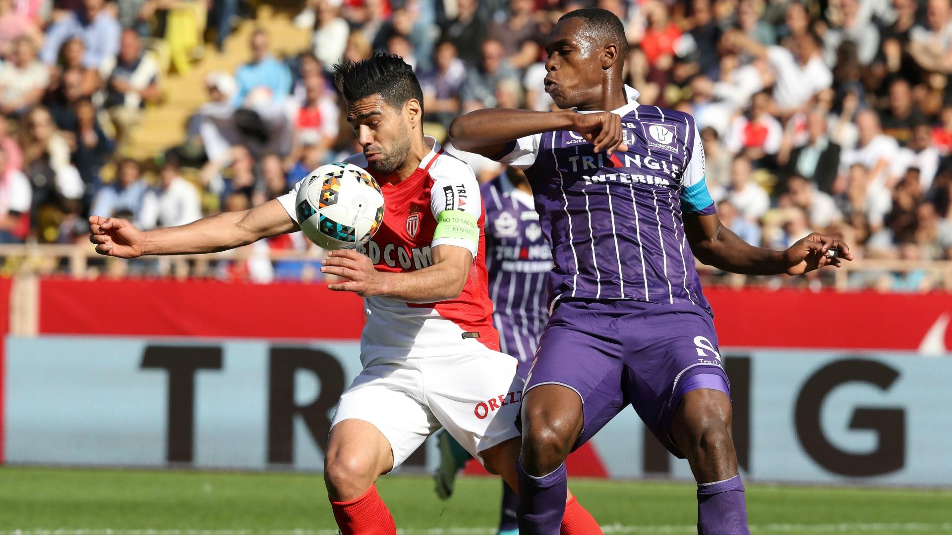 Radamel Falcao Issa Diop Monaco Toulouse