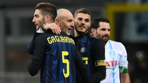 Roberto Gagliardini Stefano Pioli Mauro Icardi Inter Chievo Serie A