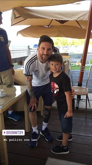 Messi 31st Birthday Party