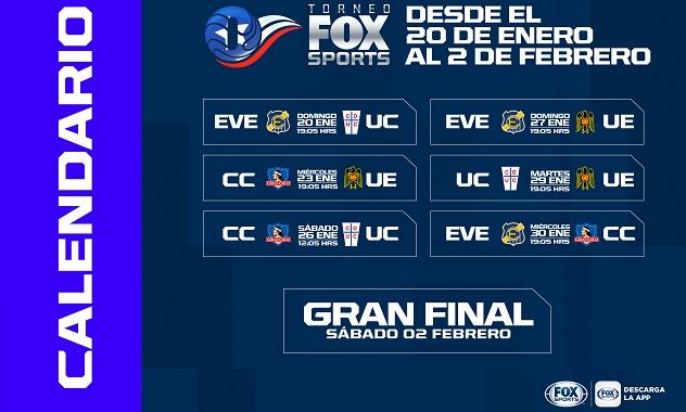 torneo verano chile 2019