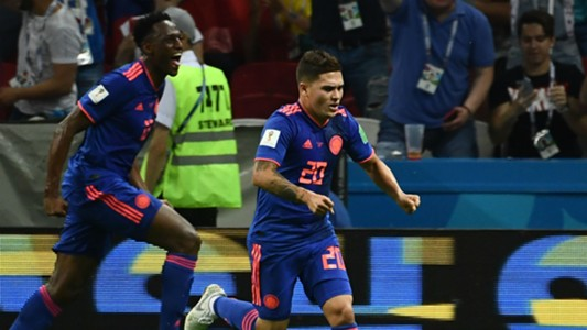 Yerry Mina Juan Quintero Colombia World Cup 2018