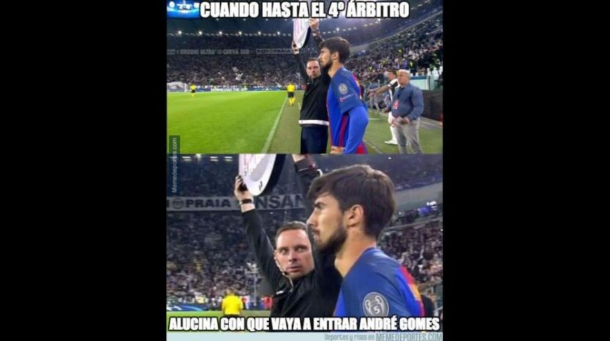 Memes del Barcelona vs Juventus