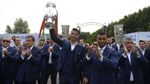 Portugal victory parade