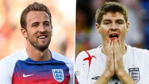 Harry Kane Steven Gerrard England